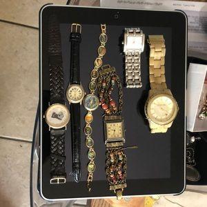 Michael Kor watch plus 4 Miscellaneous Watches